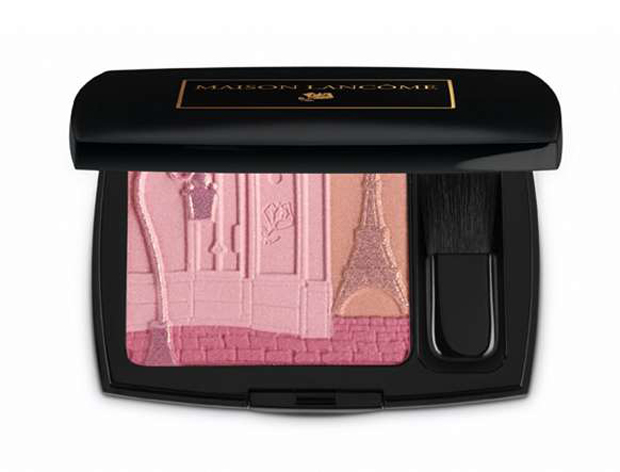 blush, eiffel tower, lancôme, makeup