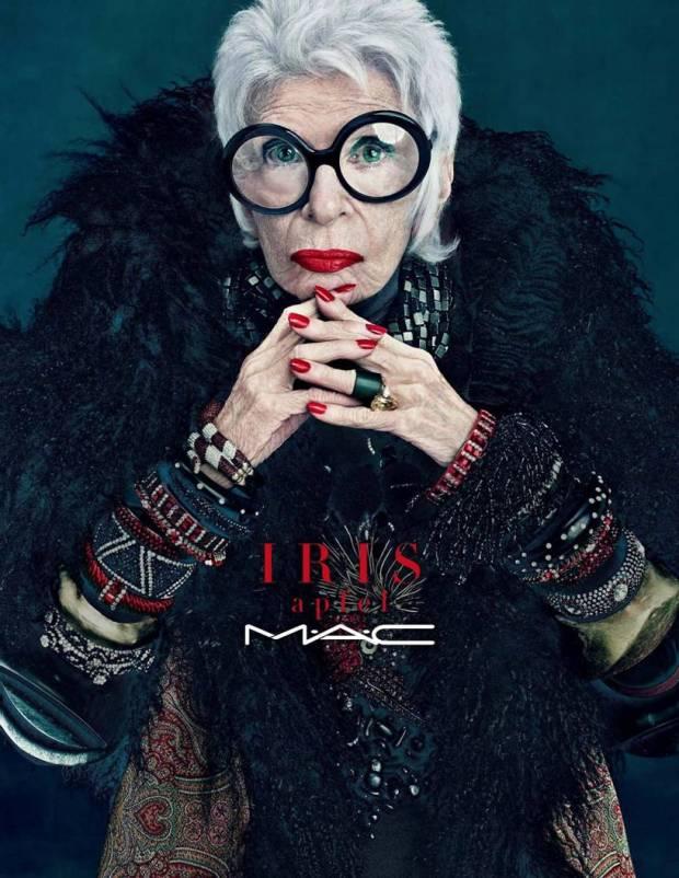 Iris Apfel MAC