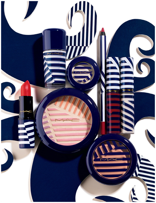MAC, makeup, navy, hey sailor