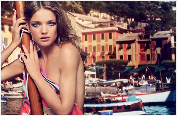 summer, guerlain, campaign, makeup, pucci