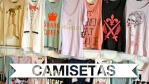 camisetas, t-shirt, moda