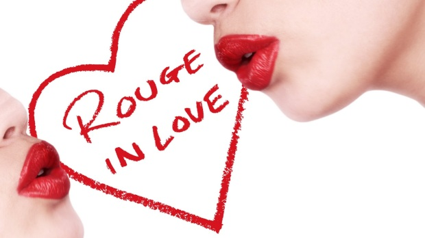 lancôme, hearts, coração, makeup, rouge, batom, kiss