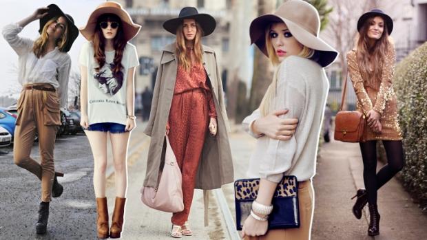 chapeus na moda street style