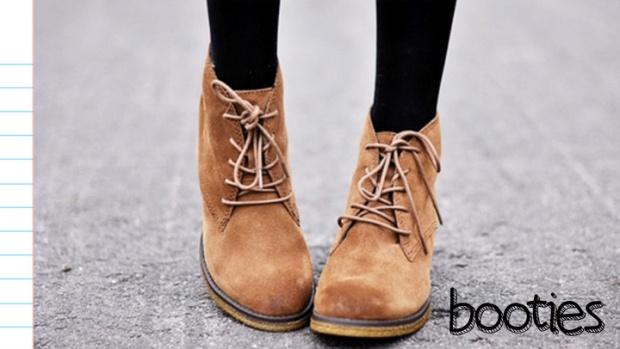 tendência em botinhas